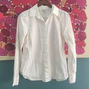 Lands end Canvas button up shirt